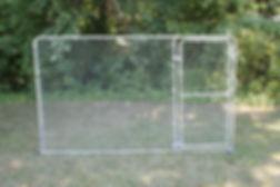 Dog Kennel Expansion Panel w/ Gate