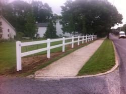 2-Rail Horse Fence