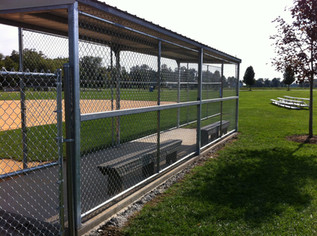 Dugout Fence