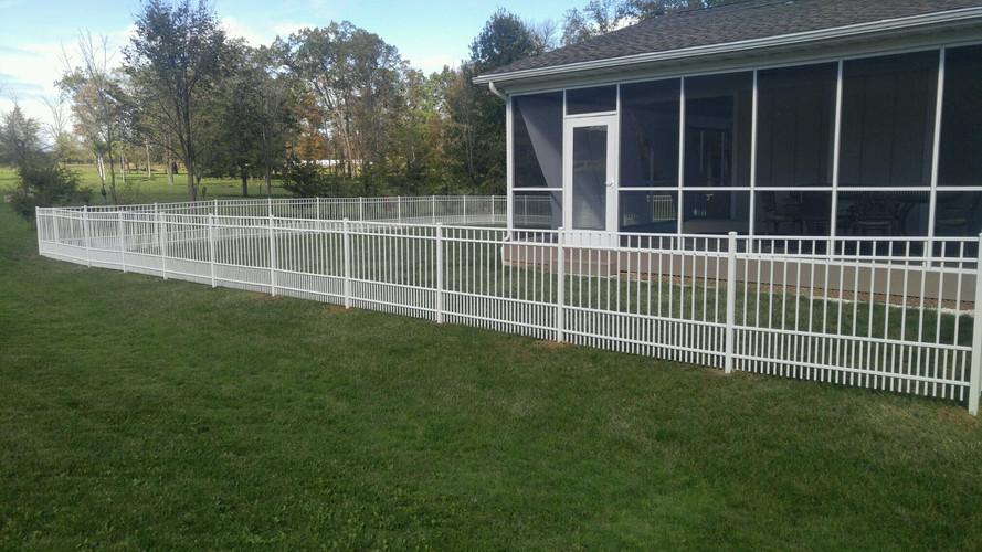 Puppy Picket Fence #3
