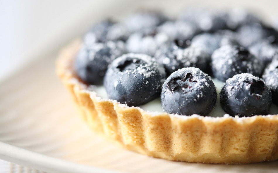 Enkel & nyttig blåbärspaj!