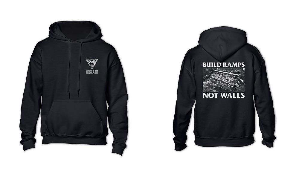 Build Ramps Not Walls Hoodie