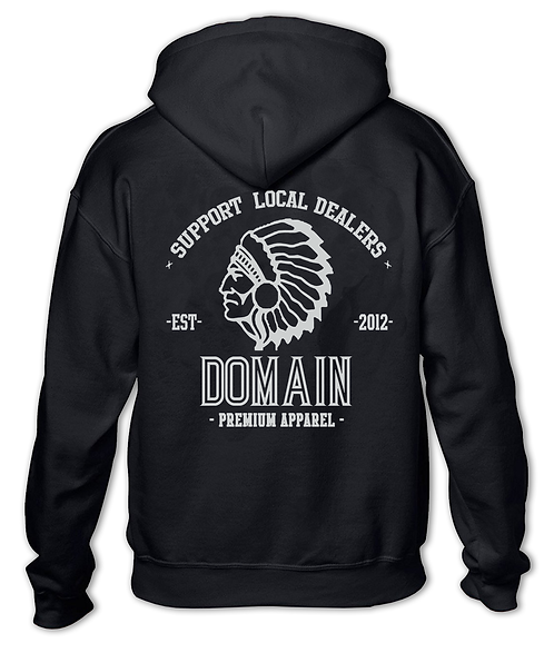 """Support Local Dealers"" Pullover Hoodie Black"
