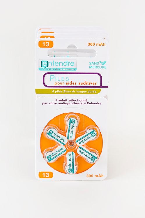 10 plaquettes de 6 piles soit 60 piles