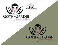 Goth Garden Cosmetics Logo Concept