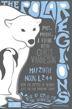 The Polar Regions Poster