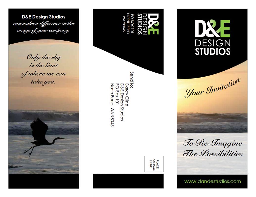 D&E Brochure Design