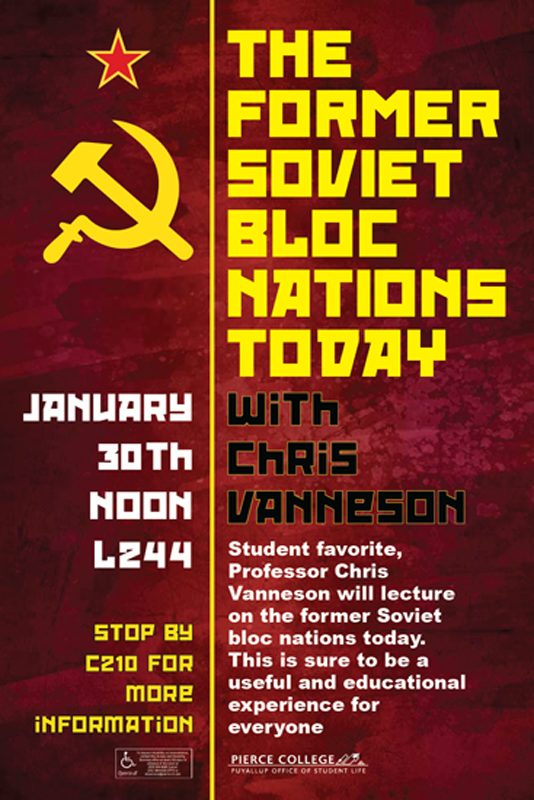 Soviet Bloc Nations Today Poster