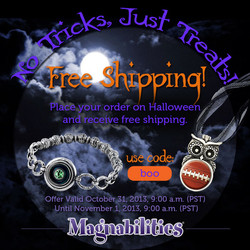 Magnabilities Jewelry Ad, Halloween