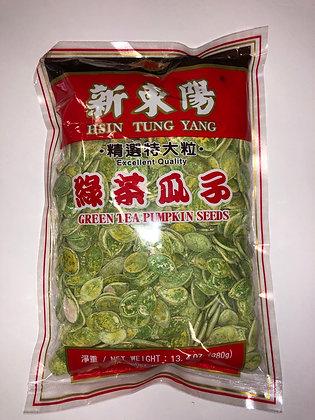 Green Tea Pumpkin Seeds 绿茶瓜子