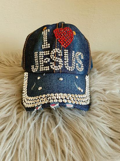 """I Love Jesus"" Cap"