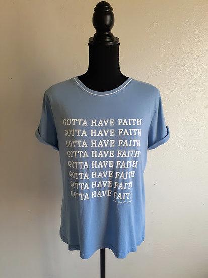 """New York & Company """"Gotta Have Faith"""" Tee"""