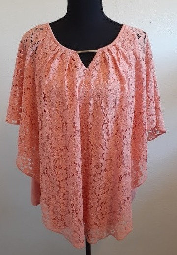 Simply Emma Lace Poncho Top