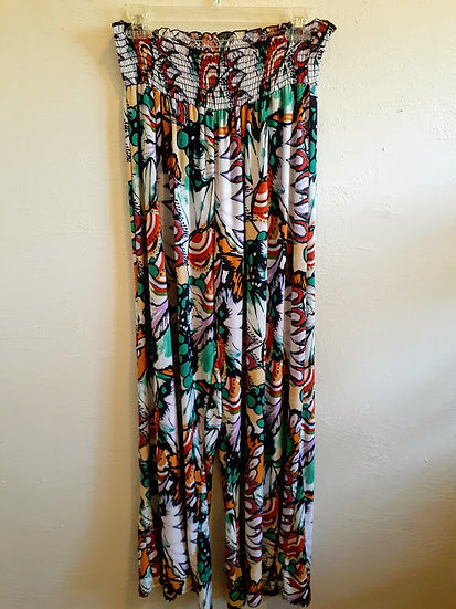Lucy's Diamond Palazzo Floral Pants