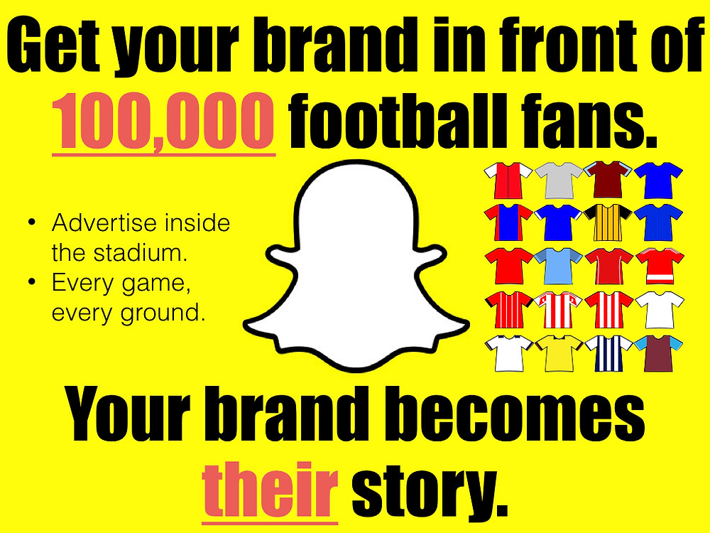 Snapchat, geofilters, football, premier league
