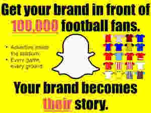 Snapchat, geofilters, football, premier league