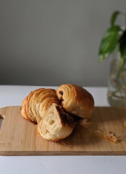 Vegan Croissant Recipe with steps by steps instruction.