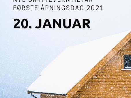 Nye smitteverntiltak 3. januar 2021