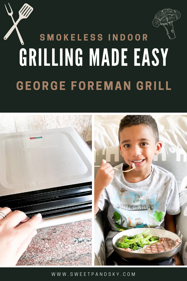 Smokeless Indoor Grilling Made Easy with the George Foreman Grill
