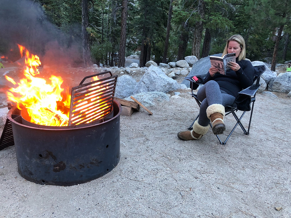 Camp Fire | Whitney Portal | Base Camp