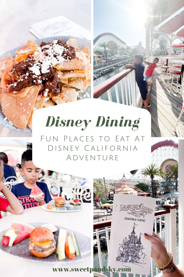 Fun Places to Eat At Disney California Adventure