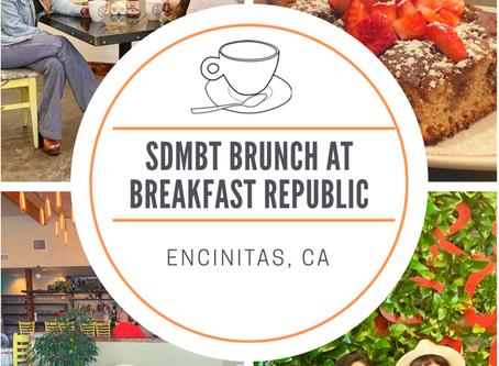 SD Mommy Blogger Tribe Brunch at Breakfast Republic in Encinitas, CA