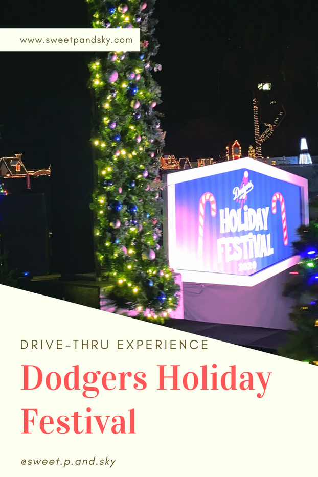 Dodgers Holiday Festival Drive Thru Experience