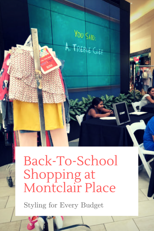 Back-To-School Shopping at Montclair Place