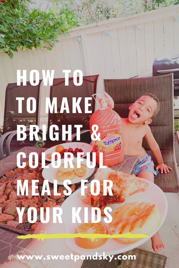 Bright Colorful MealsFor Kids