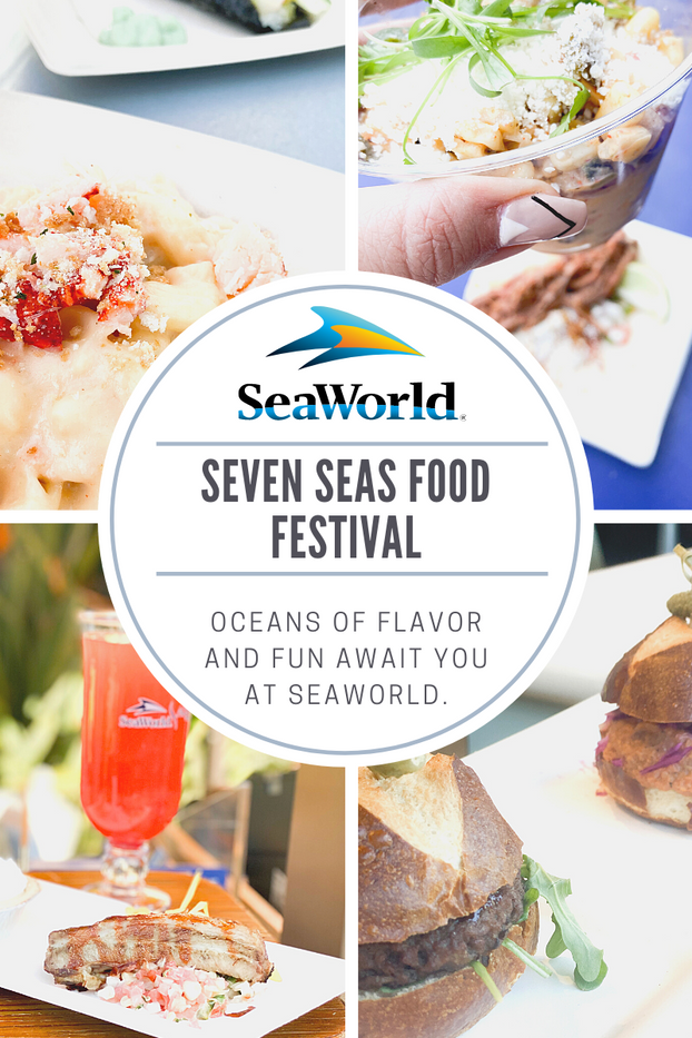 Sever Seas FOOD FESTIVAL, SEAWORLD