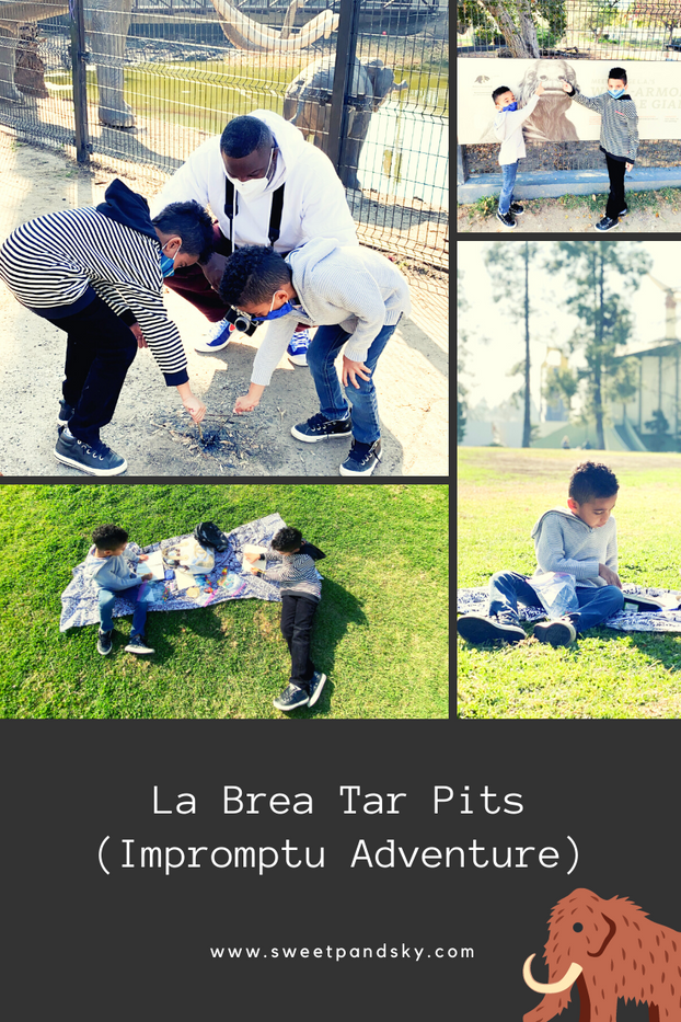 The La Brea Tar Pits | Seize a Learn Play Moment | Impromptu Family Field Trip
