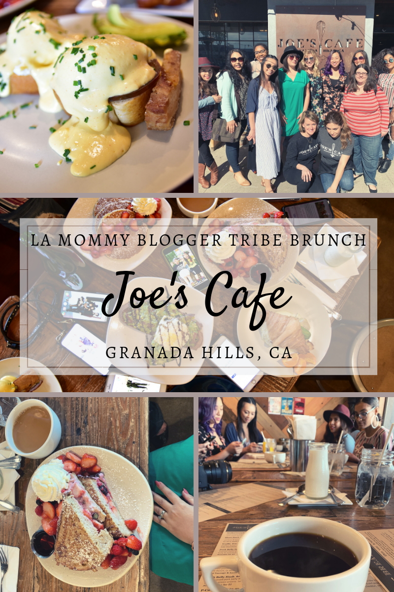 LA Mommy Blogger Tribe Brunch at Joe's Cafe | Granada Hills, CA | Sweet P and Sky
