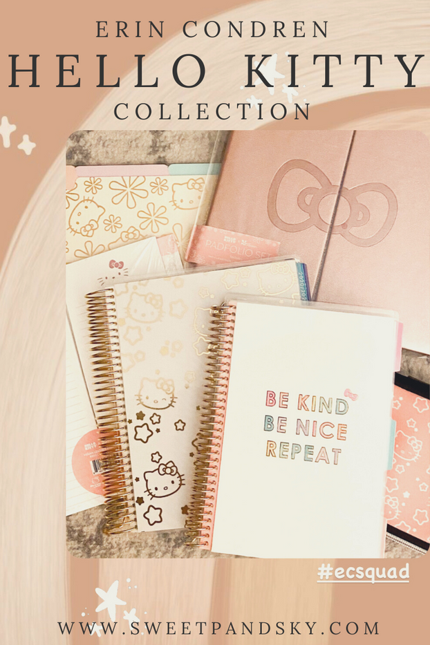 Get Organized with Hello Kitty | Erin Condren Hello Kitty Collection