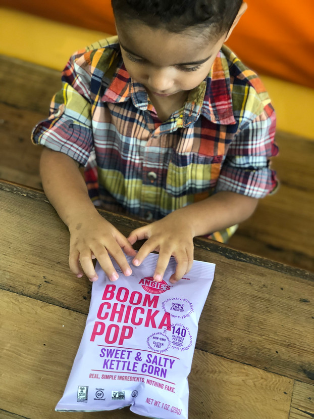 Back to School with Angie's BOOMCHICKAPOP