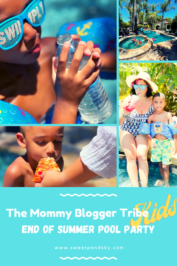 """The Mommy Blogger Tribe Kid's """"End of Summer Pool Party"""""""