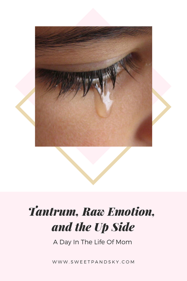 Tantrum, Raw Emotions, and the Up Side
