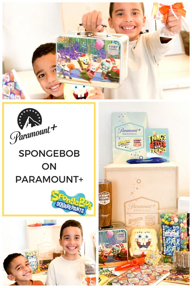 SpongeBob on Paramount+
