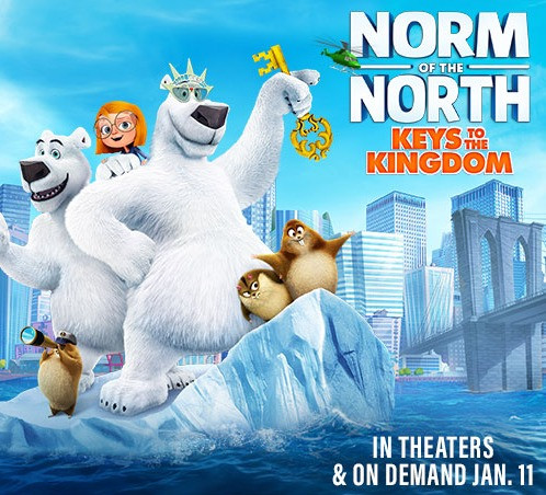 Lionsgate's NORM OF THE NORTH: KEYS TO THE KINGDOM