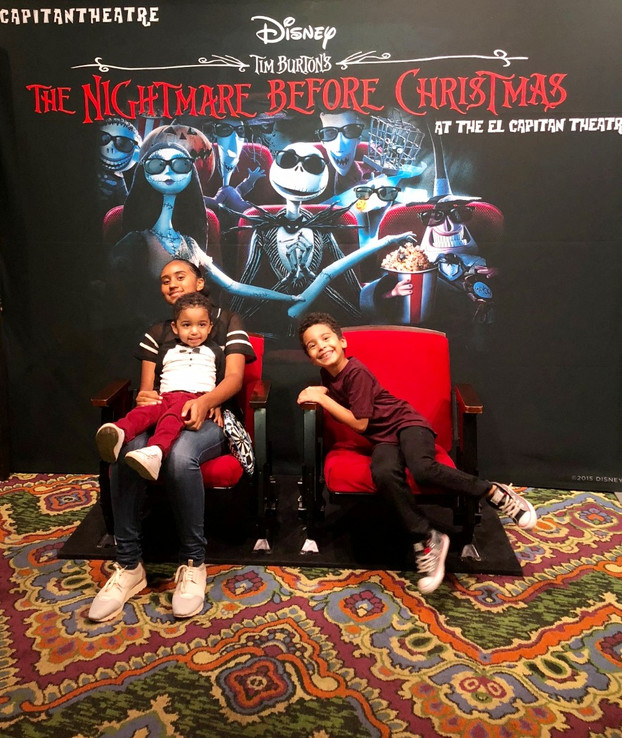 The Nightmare Before Christmas at The El Capitan Theater | A Family Tradition