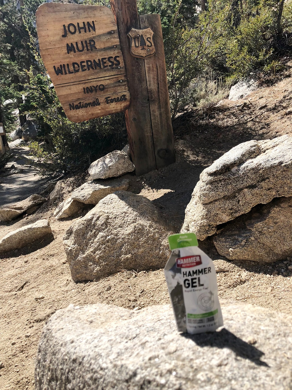 John Muir Wilderness Trail | Mt. Whitney | Hammer Nutrition | Hammer Gel