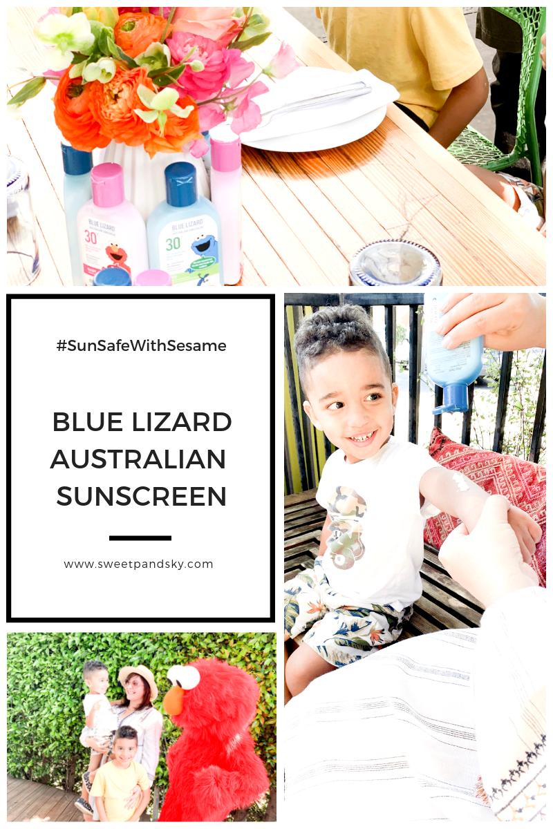 Blue Lizard Sesame Street Brunch at The Rose Venice | Sweet P and Sky