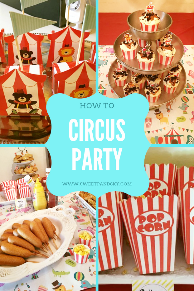Kids Circus Party | Skyler's Half Birthday