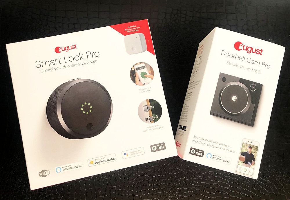Smart Lock Pro and Doorbell Cam Pro by August
