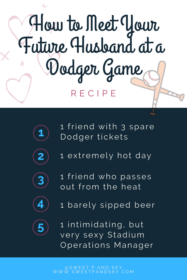 How to Meet Your Future Husband at a Dodger Game