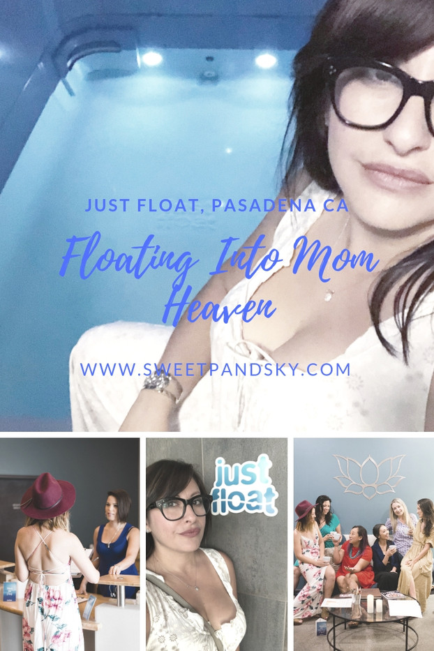 Floating Into Mom Heaven