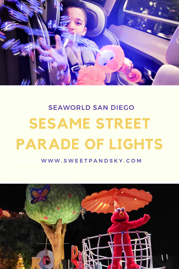 Sesame Street Parade of Lights at SeaWorld San Diego
