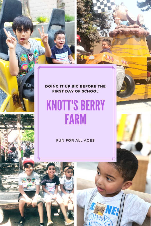 Knott's Berry Farm | Doing It Up Big Before The First Day Of School | Fun For All Ages