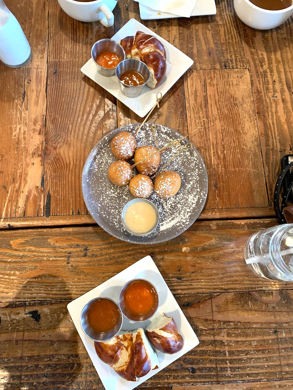 P-Cake Balls with Maple Cream | Pretzel Bread with Carrot Jam | Joe's Cafe | Granada Hills, CA | LA Mommy Blogger Tribe | Sweet P and Sky