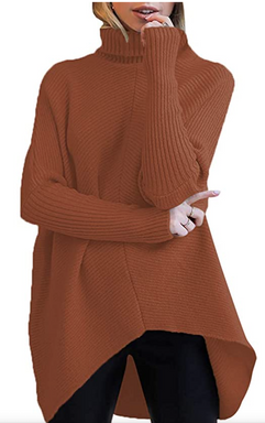 Brown Loungy Sweater