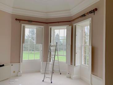 Bespoke Bay Pole Fitted